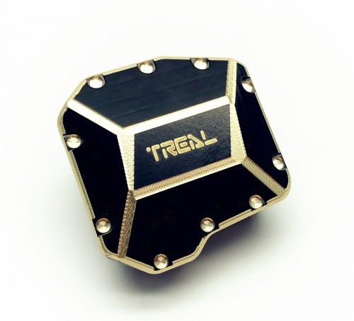 Treal SCX10 III Brass Axle Diff Cover Heavy Weight 51g