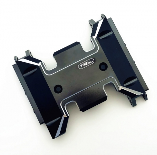 Treal Aluminum 7075 Center Skid Transmission Plate for SCX10 III Crawler