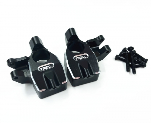 Treal Front Inner Portal Covers Steering Knuckles Aluminum 7075 for Axial Capra UTB/SCX10 III